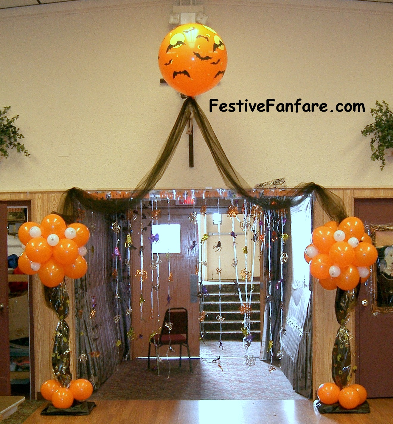 halloween entrance