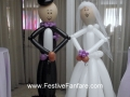 Bride and Groom Life Size 2